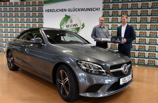 Veltins Megachance 2019 Klüver - Mit nur einem Kronkorken zum neuen Sportwagen