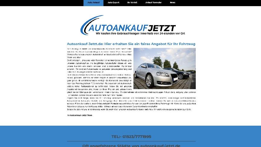 Autohändler in Gronau Westfalen