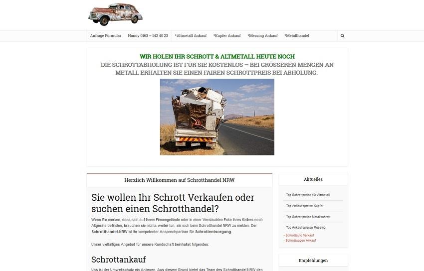 SchrottAnkauf in Düsseldorf