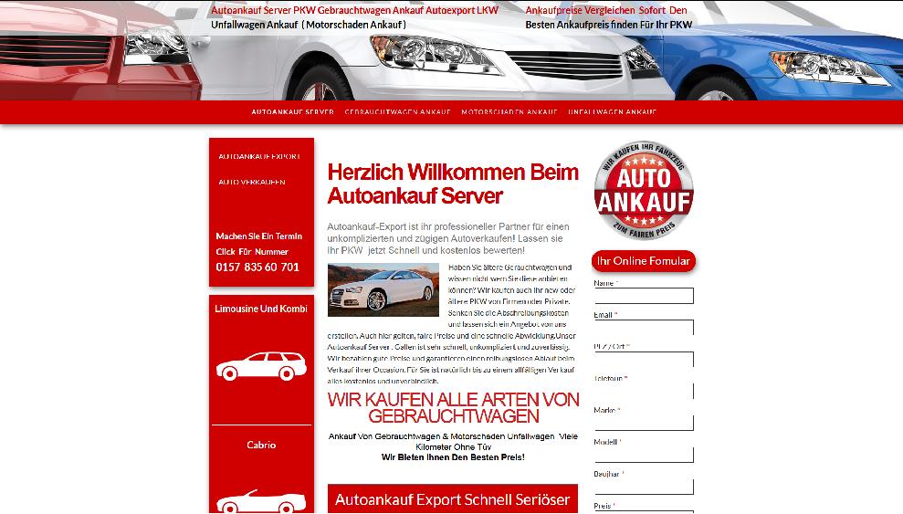 Autoankauf-Server.de   Autoankauf Goslar   Autoankauf Export Goslar