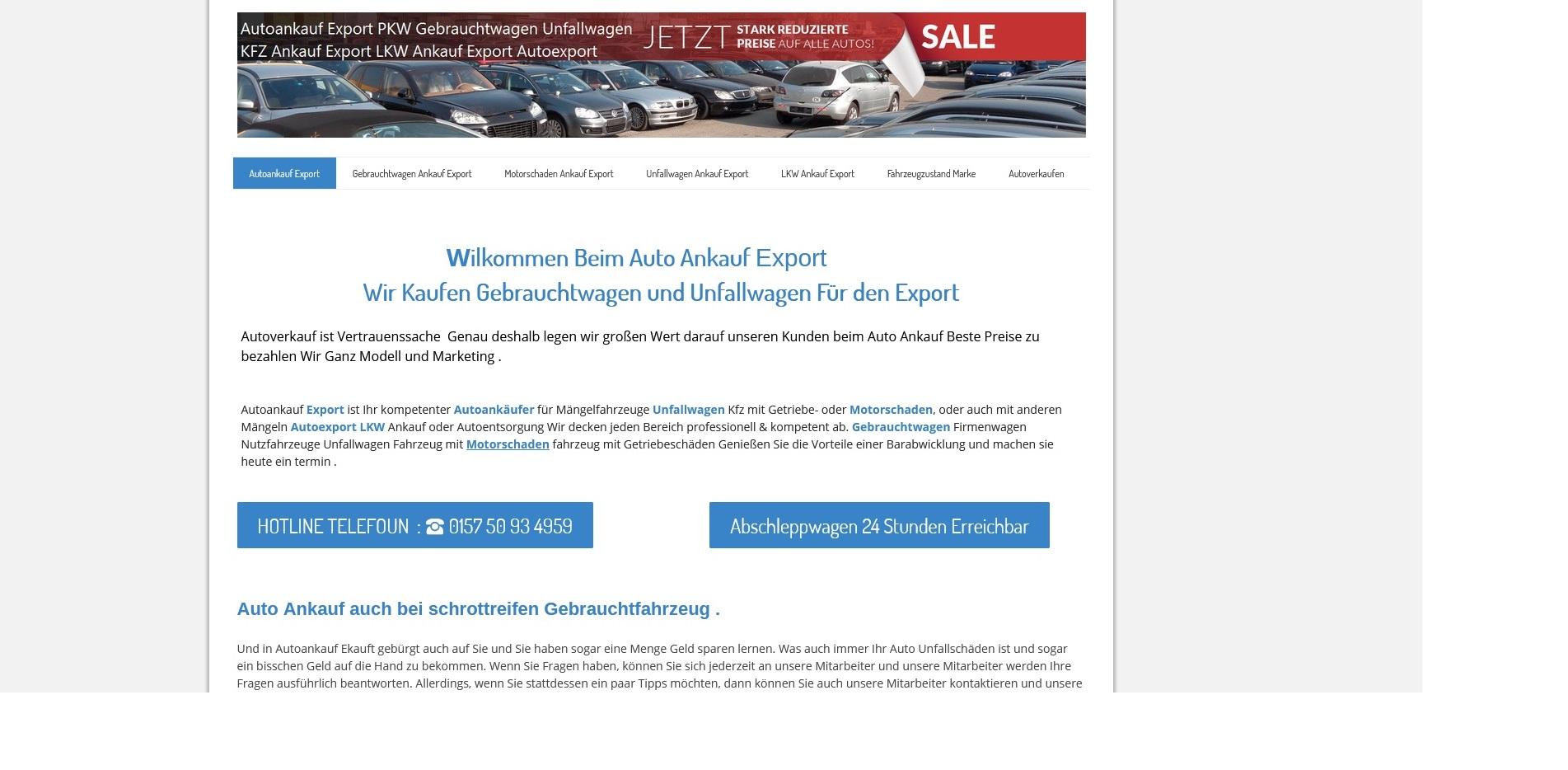 Kfz-Ankauf-export.de | Autoankauf Kassel | Autoankauf Export Kassel