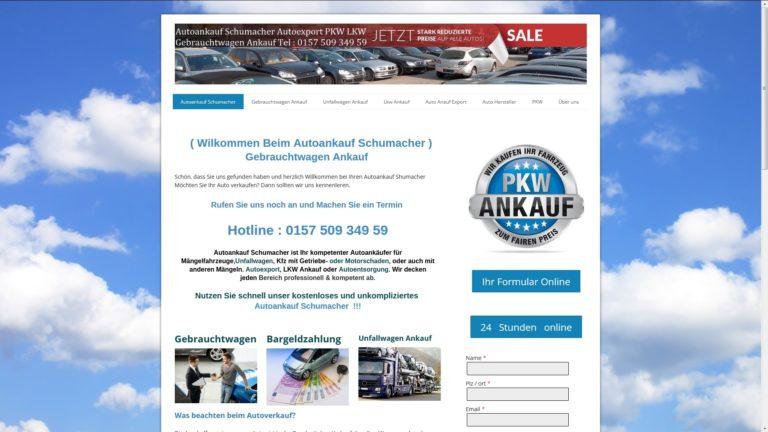 Autoankauf Kreuztal : von Autoankauf Schumacher