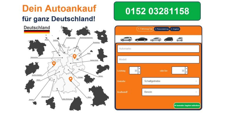 Der Autoankauf Lingen kauft Gebrauchtwagen aller Art im gesamten Stadtgebiet von Lingen