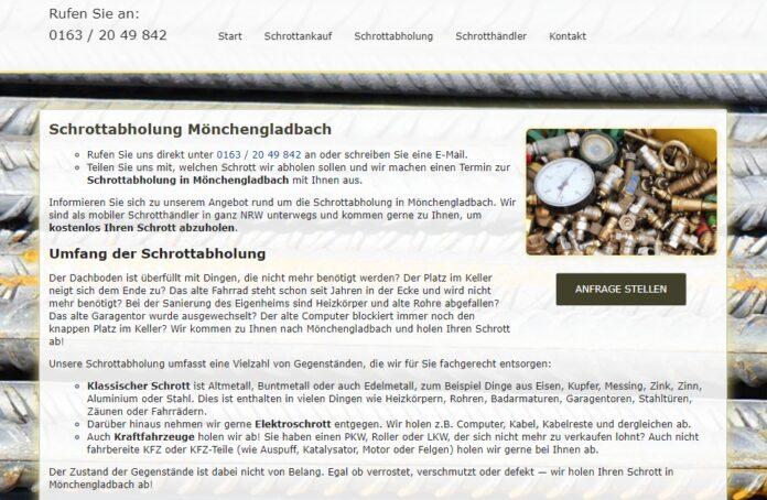 image 1 58 696x454 - Schrottabholung in Mönchengladbach : Ihr Partner für Schrottabholung und Altmetallhandel