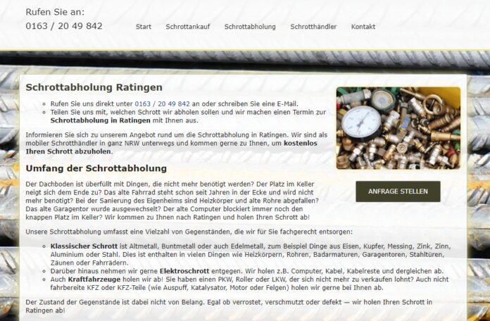 image 1 72 696x456 - Schrottabholung Ratingen: Holen Ihren Schrott kostenlos ab