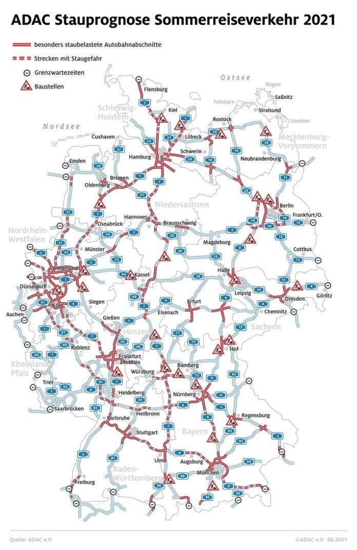 image 1 141 696x1072 - Ferienstart in Baden-Württemberg und Bayern / ADAC: Staus in allen Richtungen / Stauprognose für 30. Juli bis 1. August