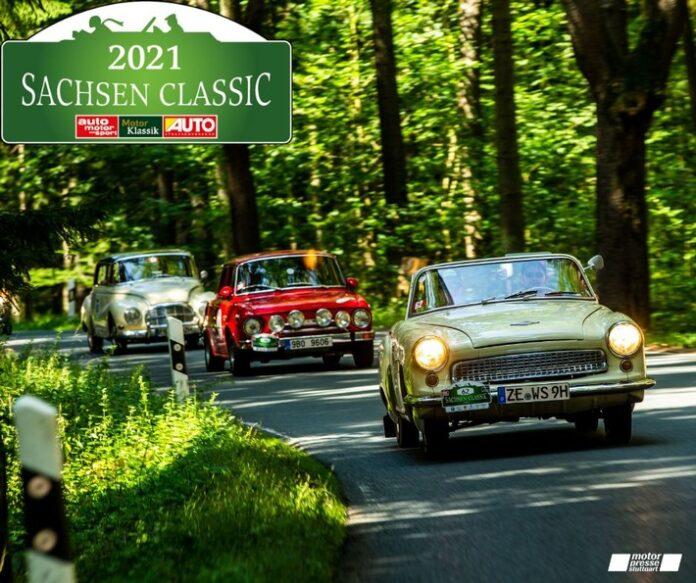 image 1 71 696x583 - Premiere im Freistaat: 18. Sachsen Classic ist die erste klimaneutrale Classic-Rallye der Motor Presse Stuttgart