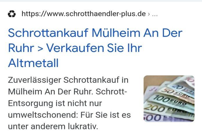 image 1 78 696x464 - Schrottankauf Mülheim an der Ruhr kauft ihren Schrott zu tagesaktuelle Preise an