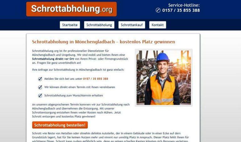 Die Schrottabholung Mönchengladbach entsorgt Ihren Metallschrott
