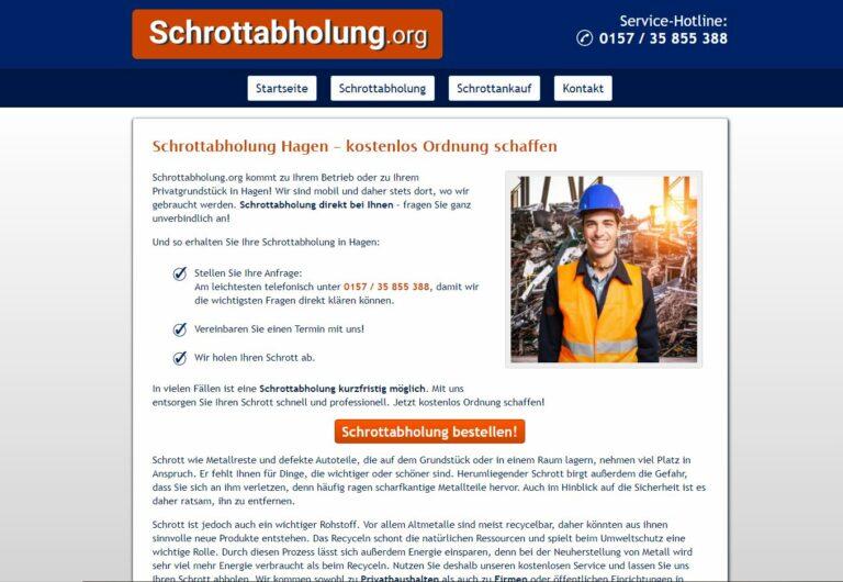 Der Altmetall-Ankauf ergänzt die Dienstleistung der Schrottabholung in Hagen