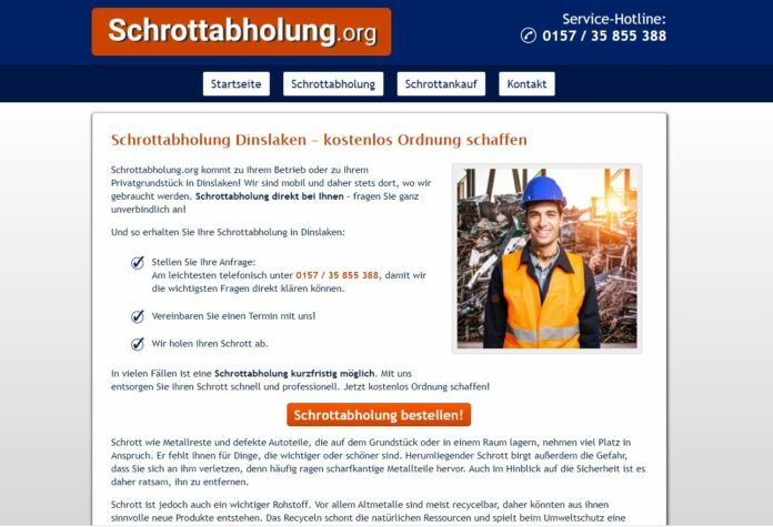 image 1 195 696x475 - Schrotthändler in Dinslaken: Schrott und Metall loswerden