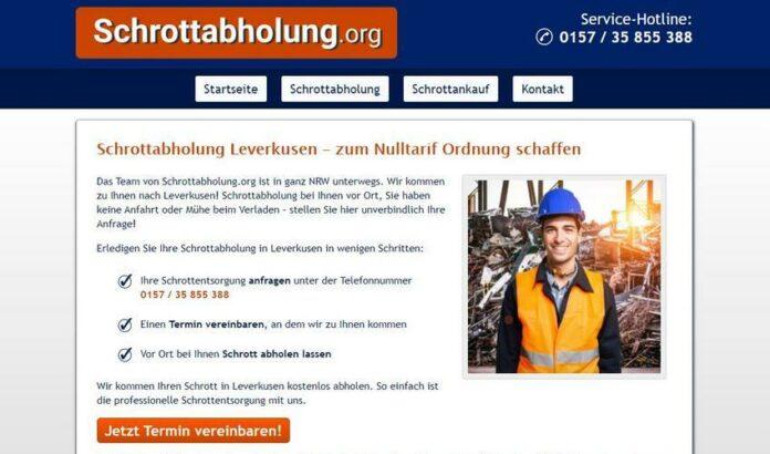 image 1 207 696x410 - Schrotthändler in Leverkusen helfen Ihnen gerne! Schrottabholung für Privat und Firmenkunden Leverkusen