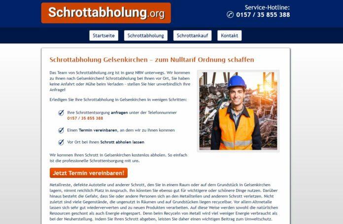 image 1 209 696x455 - Schrotthändler in Gelsenkirchen fachgerecht entsorgen kostenlos inklusive Demontage für Privat und Firmenkunden