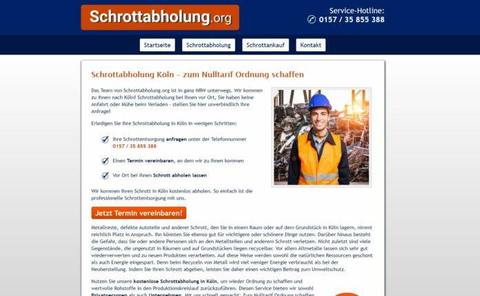 image 1 27 696x429 - Schrottabholung in Köln: Wir helfen Ihnen gerne weiter!